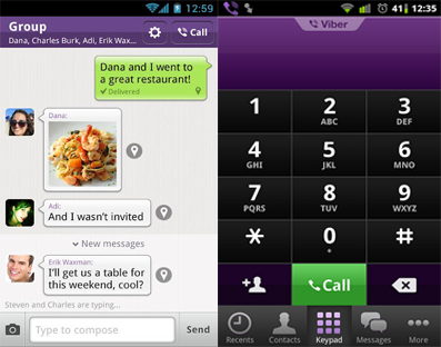 viber iphone android