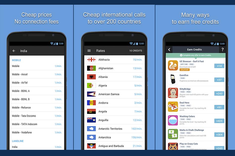 مكالمات دولية برصيد مجاني